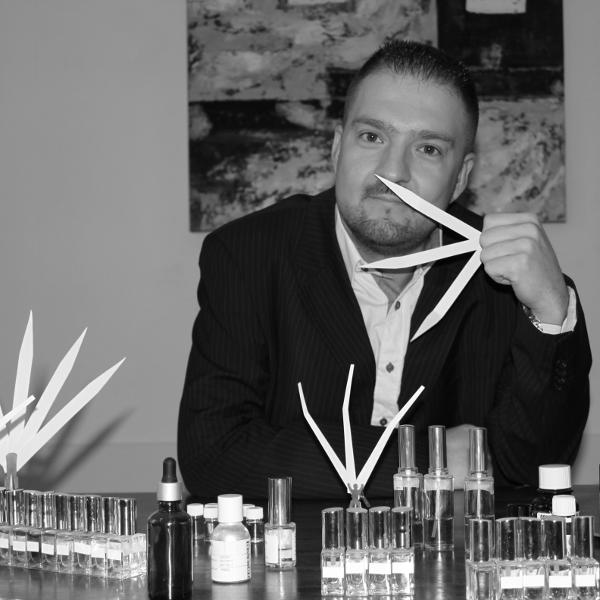 Vincent Grandjon, perfume creator